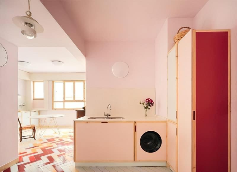 Як заховати пральну машину: фото, приклади 11