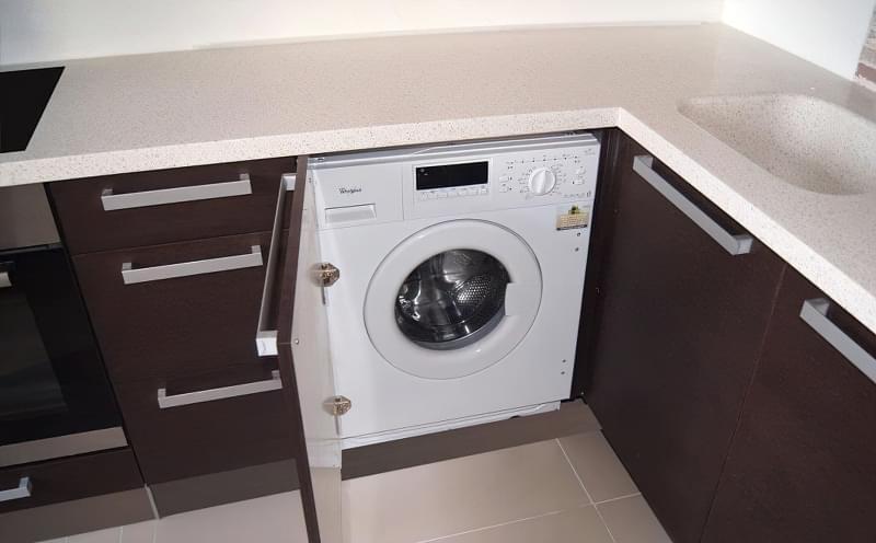 Як заховати пральну машину: фото, приклади 4