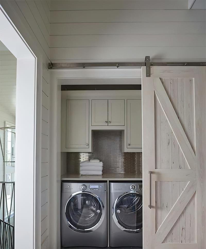 Як заховати пральну машину: фото, приклади 7
