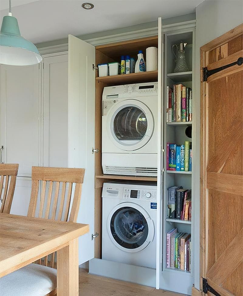 Як заховати пральну машину: фото, приклади 9
