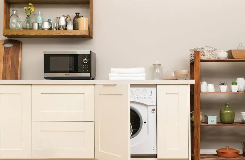Як заховати пральну машину: фото, приклади 1