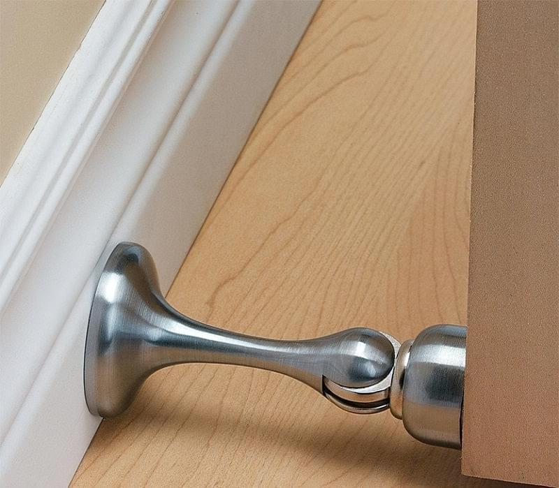Дверні фіксатори: навіщо потрібні, різновиди, приклади 5