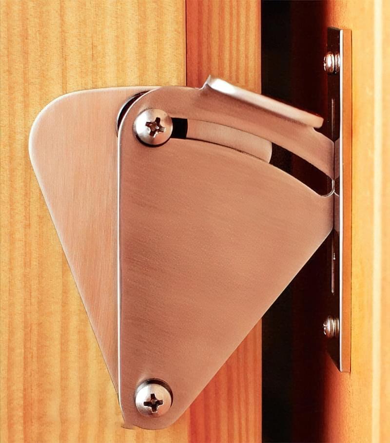 Дверні фіксатори: навіщо потрібні, різновиди, приклади 6