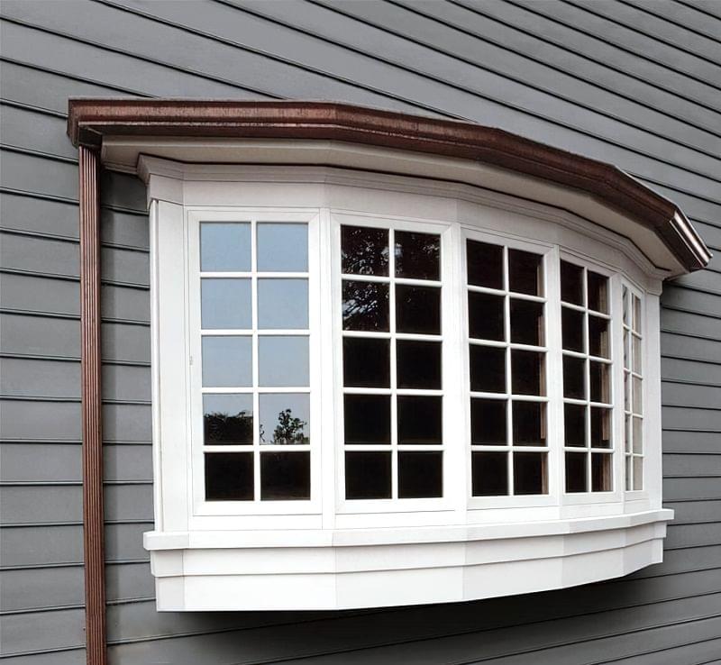 Дугові вікна: відмінності від еркерів, плюси і мінуси 3