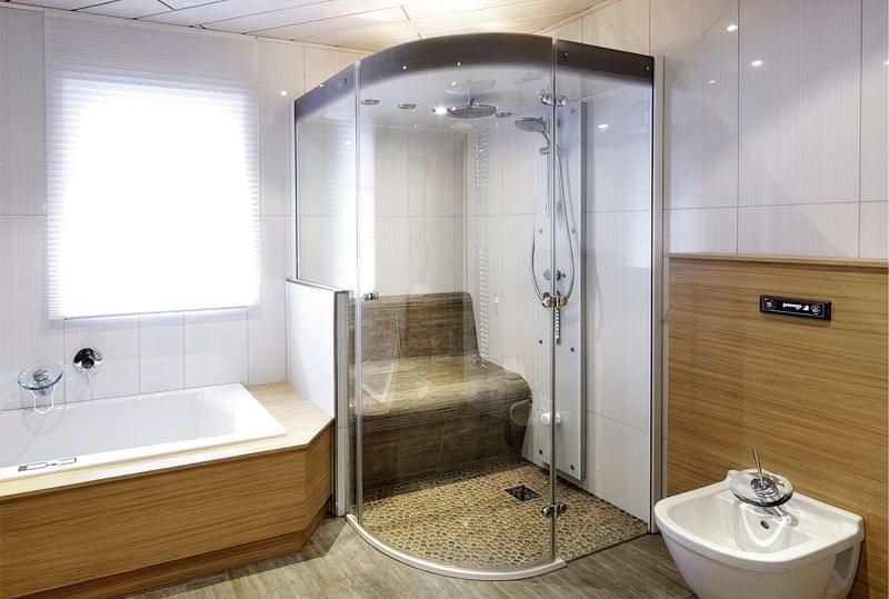 Як зробити ванну кімнату теплішою 4