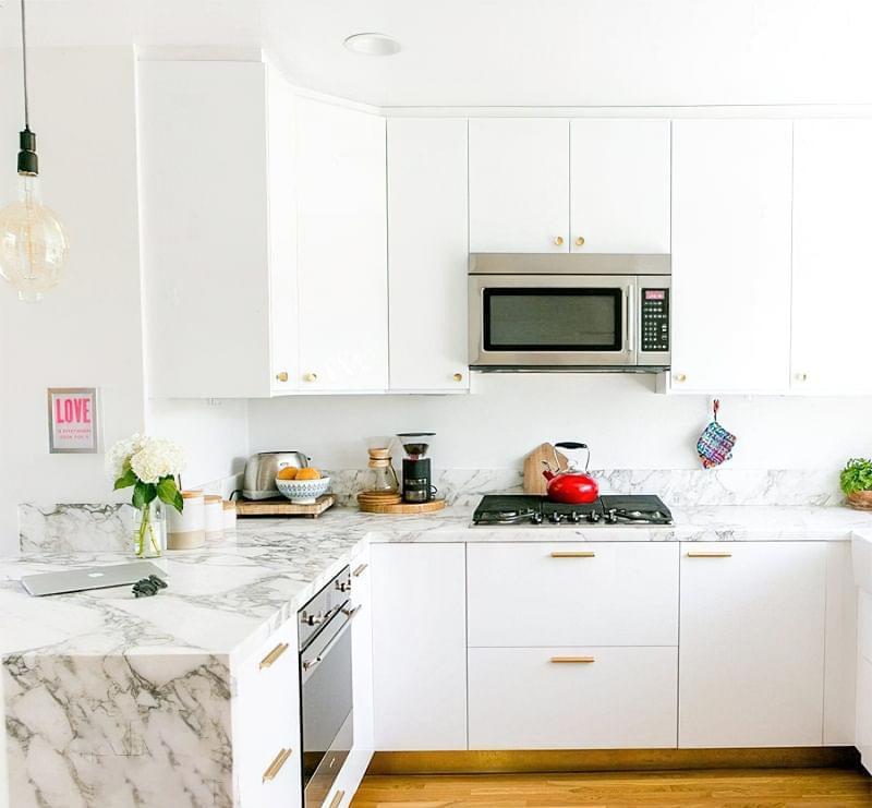 Дизайн кухні площею 9 квадратних метрів 2