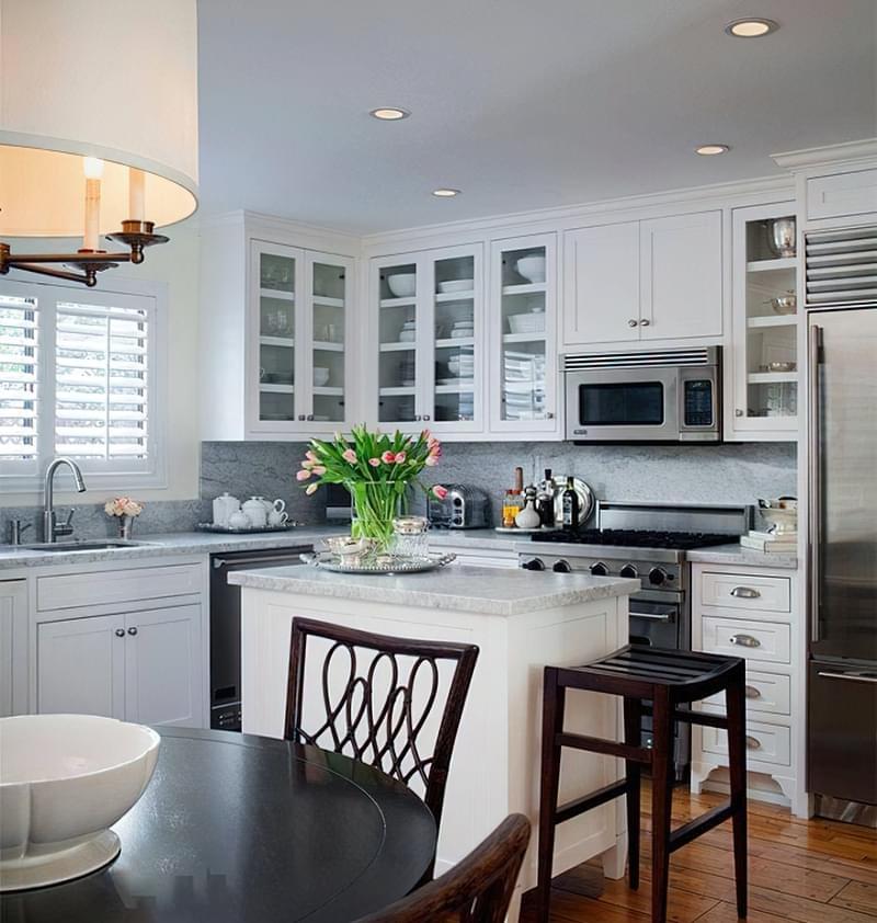 Дизайн кухні площею 9 квадратних метрів 3