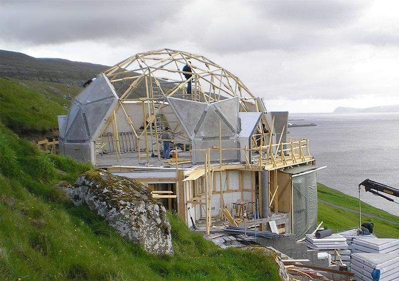 Будинки куполи - в чому плюси, які мінуси 6