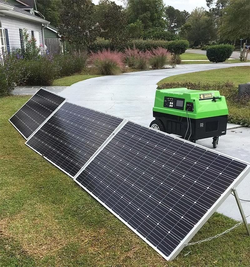 Генератори електроенергії на сонячних батареях 4
