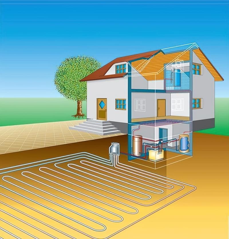 Плюси і мінуси геотермального опалення 4