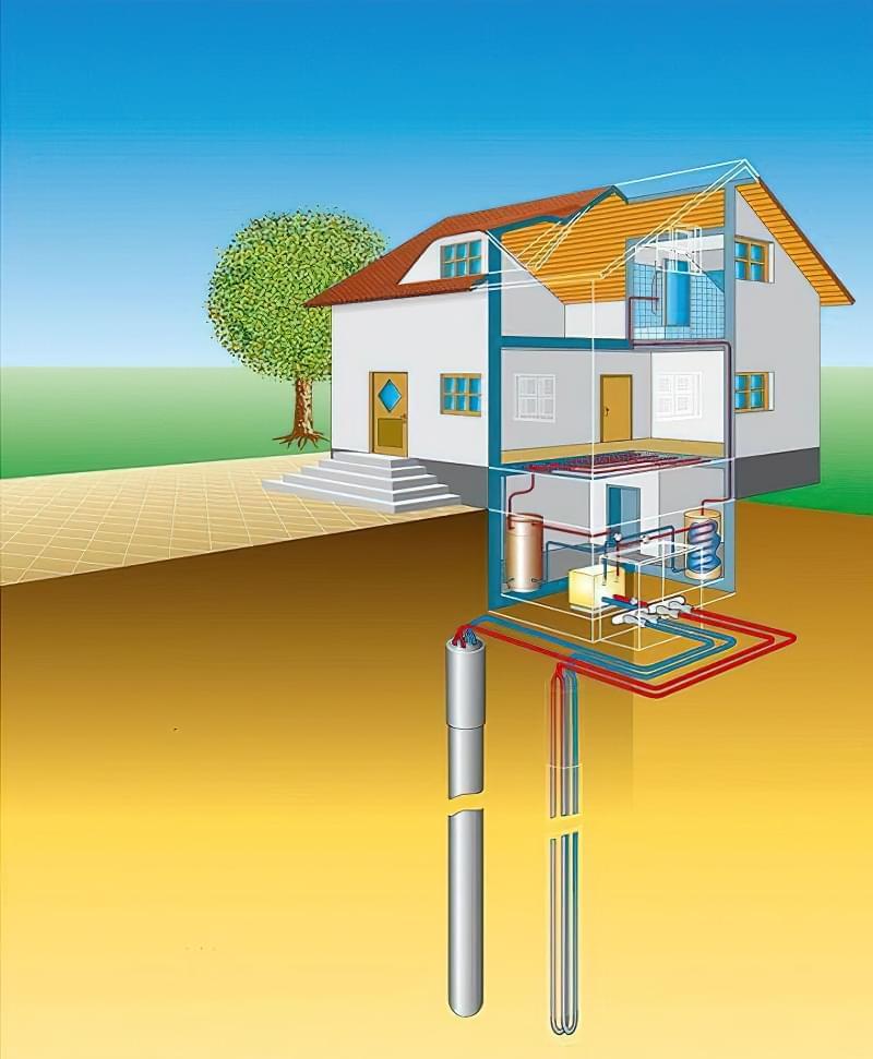 Плюси і мінуси геотермального опалення 1