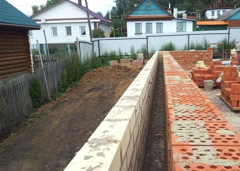 Колодязна кладка цегляних стін 1