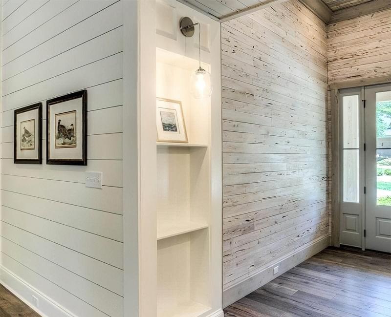 Варіанти обробки стін деревиною 1