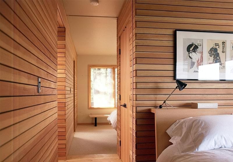 Варіанти обробки стін деревиною 5
