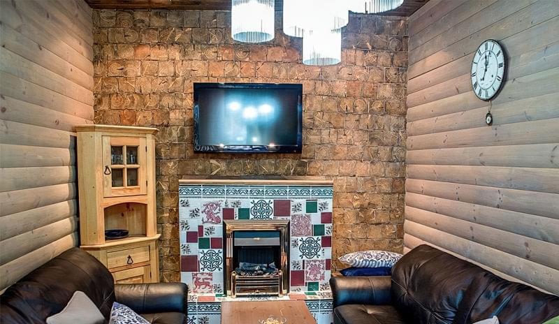 Варіанти обробки стін деревиною 6