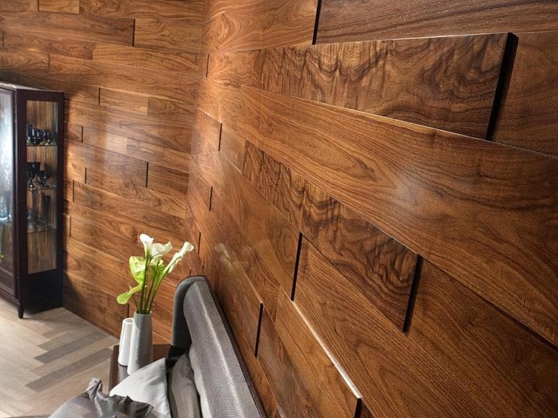 Варіанти обробки стін деревиною 7