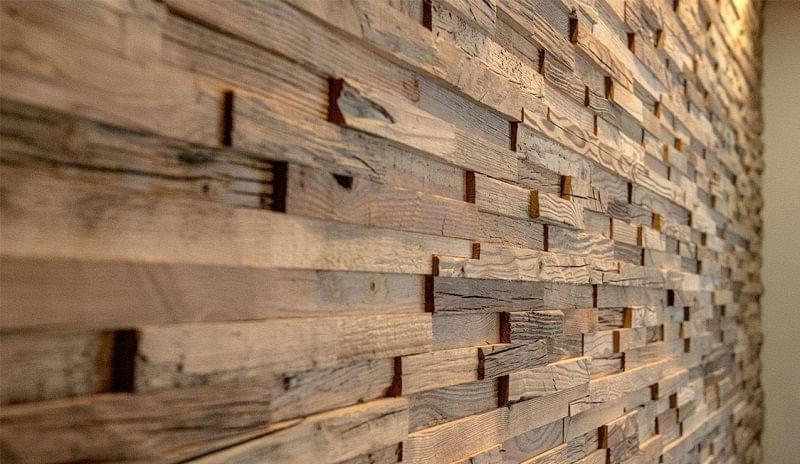 Варіанти обробки стін деревиною 9