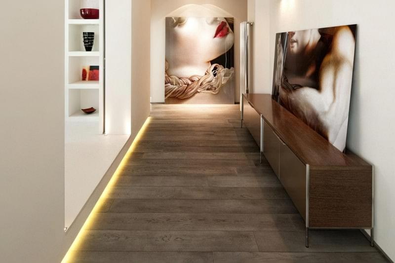 Підсвічування підлоги, цікаві варіанти 7