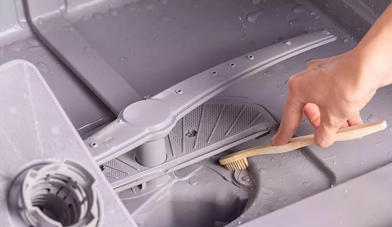 Як помити фільтр посудомийної машини 5