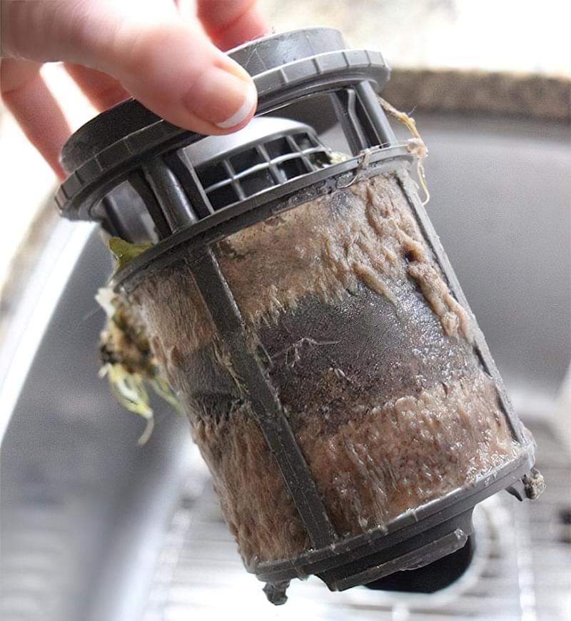Як помити фільтр посудомийної машини 1