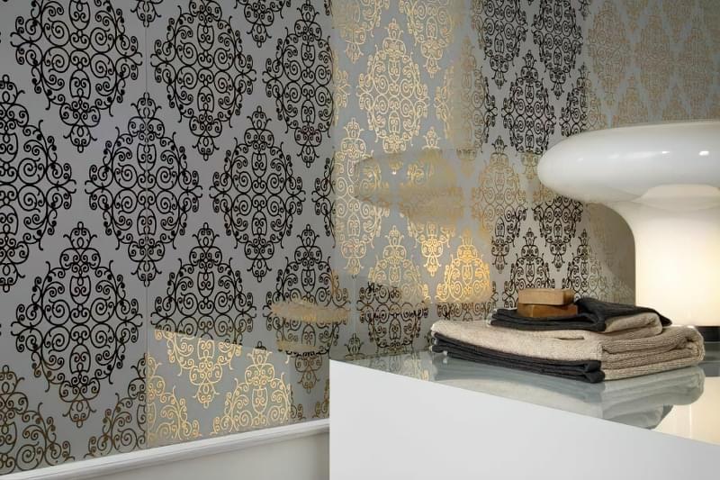 Дзеркальні шпалери: чудовий декор житлового приміщення 3